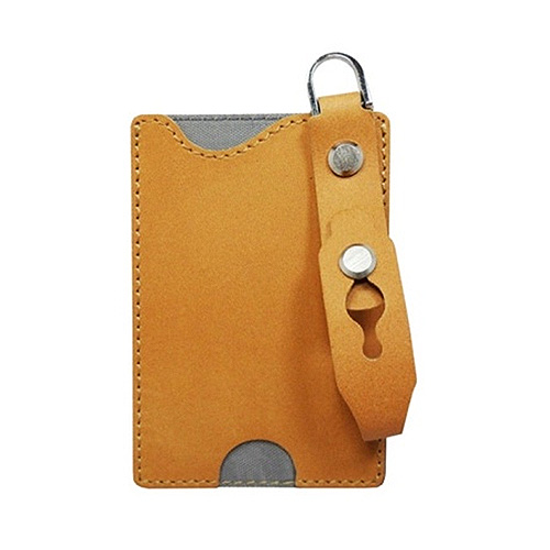 Magic strap Card Holder Genuine leather